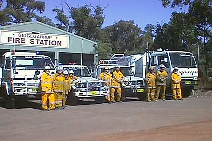 Gidge East Fire Brigade (2003)